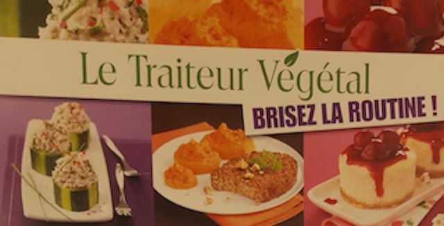 Produits du traiteur végétal