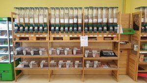 Rayon épicerie bio