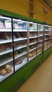 Réfrigérateur produits frais