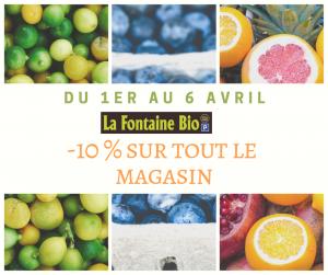 Promotion La Fontaine Bio Château-Thierry