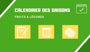 Miniature calendrier de saison fruits et légumes