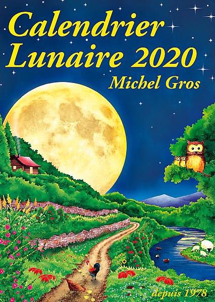 Le Calendrier lunaire 2020 est arrivé !