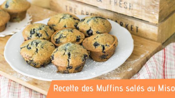 Recette : Les Muffins salés au Miso