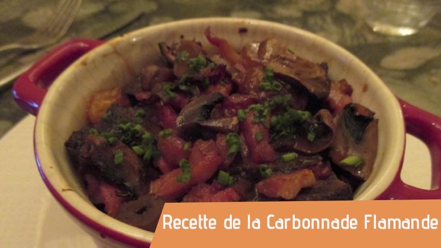 Couverture recette carbonnade flamande