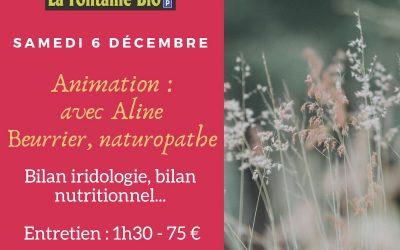 Animation – Aline Beurrier naturopathe