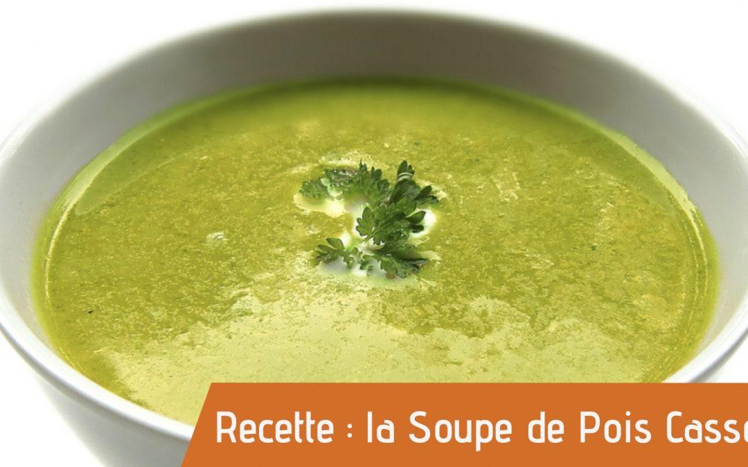 Couverture recette bio de la soupe de pois cassés