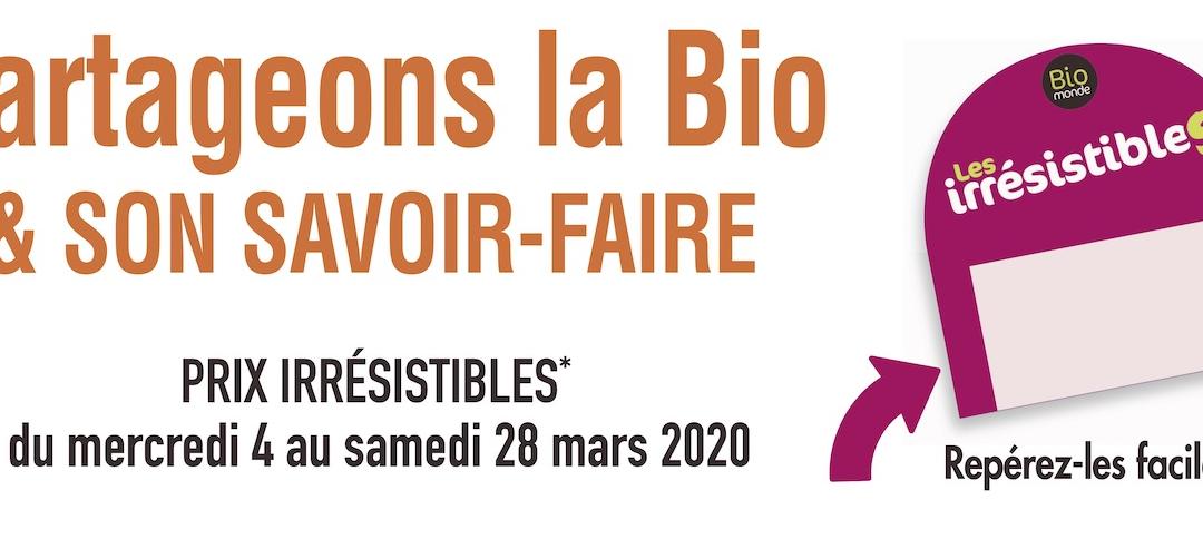 Promotion #BioMonde La Fontaine Bio Château-Thierry