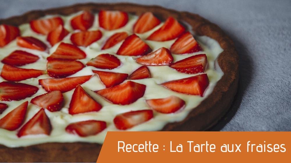 Recette bio de la tarte aux fraises